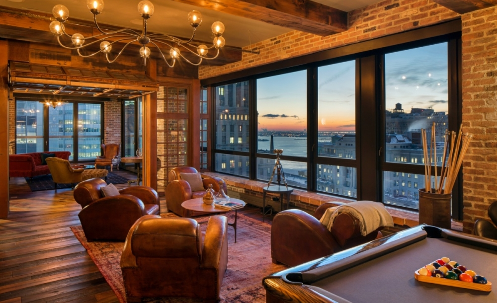 Birkenstock S Rustic Nyc Penthouse Is Up For Grabs Whale
