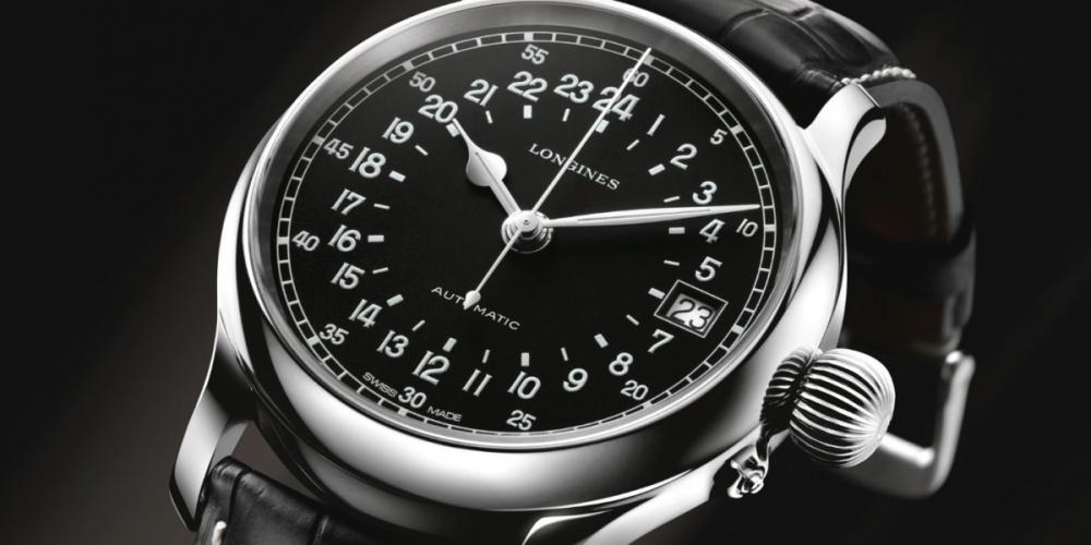 Longines-Twenty-Four-Hours-Single-Push-Piece-Chronograph