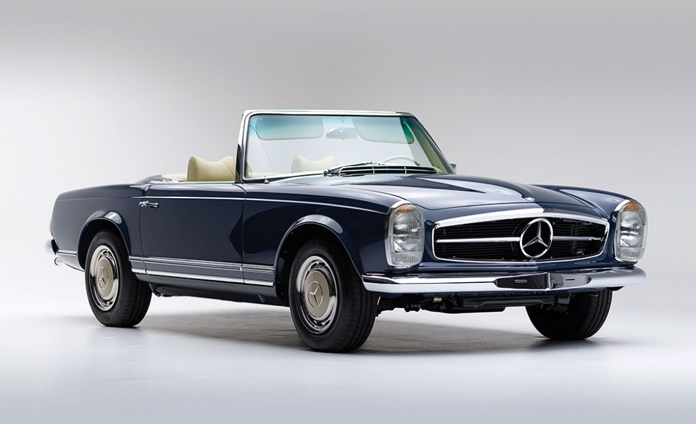 Mercedes 280 sl pagoda whale lifestyle for Mercedes benz lifestyle