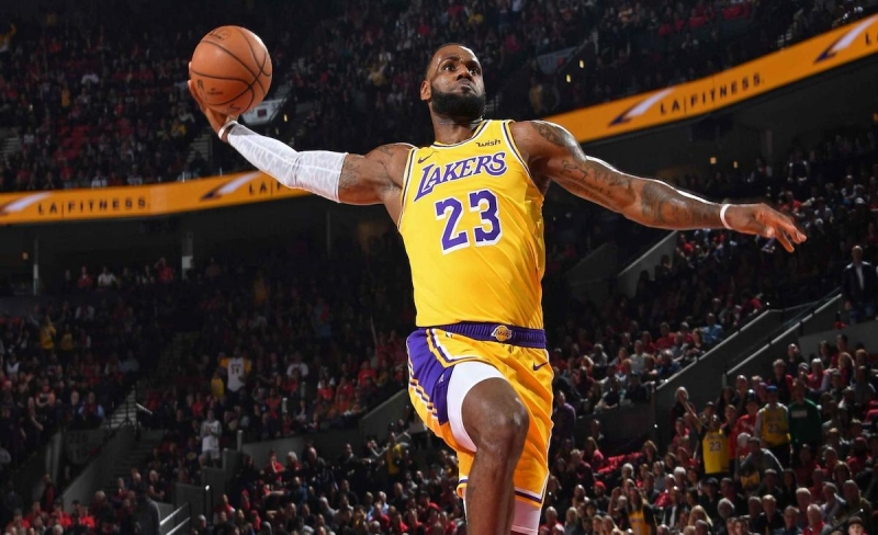 number 23 player for lakers
