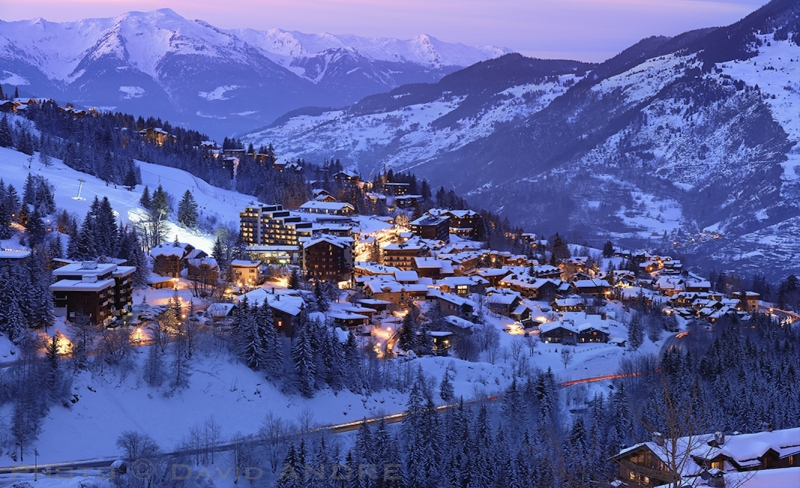 view of courchevel